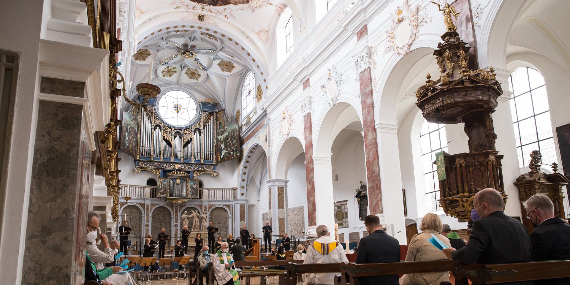 St. Anna in Augsburg beim Hohen Friedensfest