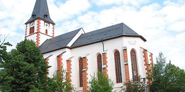 Die Pfarrkirche Pilgramsreuth,© Pfarrkirche Pilgramsreuth