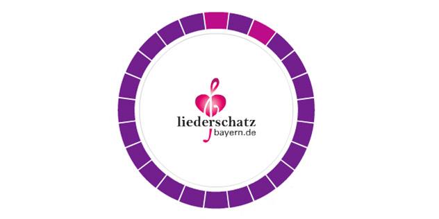 Das Bild zeigt das Logo der Seite liederschatz.de